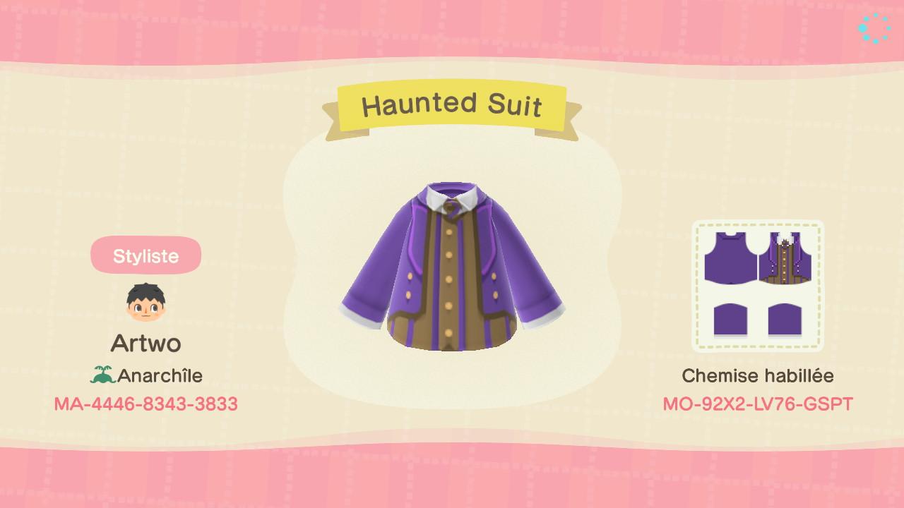Haunted Suit ACNH