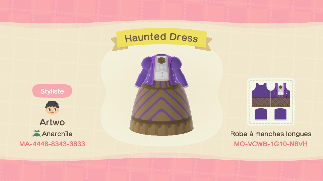 Haunted Dress ACNH