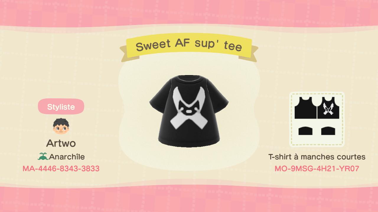 Sweet AF Sup' Tee ACNH