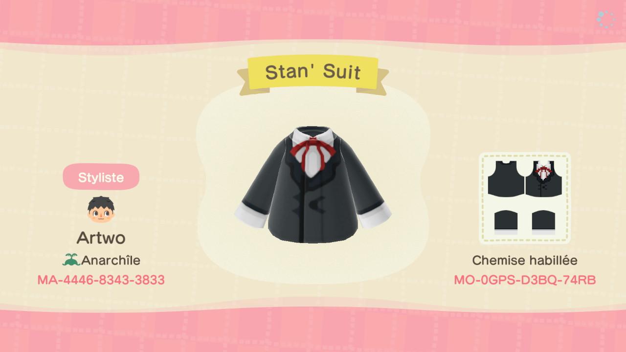 Stan' Suit ACNH