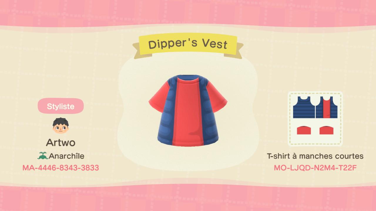 Dipper's Vest ACNH